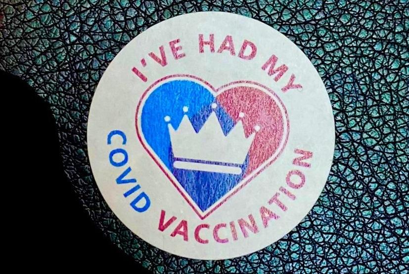 Covid Vaccination Badge
